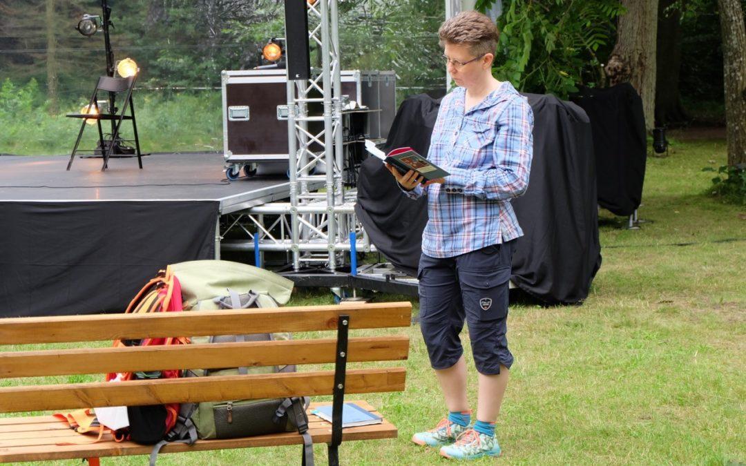 Ein Refugium der Natur. Lesung in Eberswalde.
